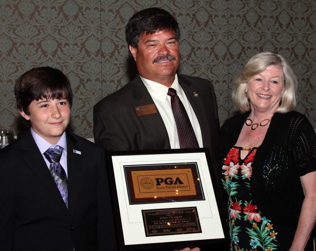Thank You Team Hughes 2014 NFPGA Bill Strausbaugh Award Recipient